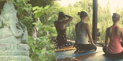 Séance de yoga sur Annecy